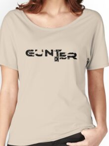 Ready Player One Gunter Distressed  Women's Relaxed Fit T-Shirt
