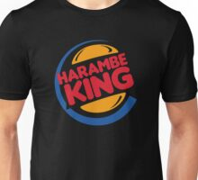 Harambe King Unisex T-Shirt