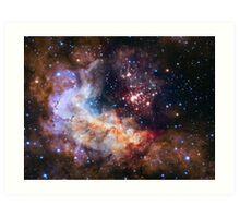 Hubble Space Image Art Print