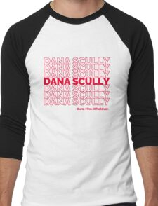 Dana Scully Men's Baseball ¾ T-Shirt