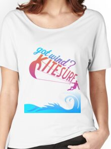 Kite Surfing Women's Relaxed Fit T-Shirt