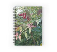 Berries and Leaves Spiral Notebook
