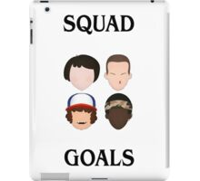 Stranger Things Squad Goals iPad Case/Skin
