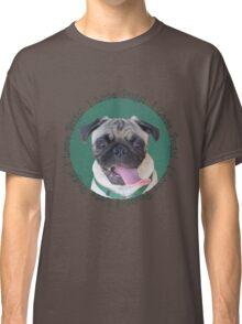 Cute I Love Pugs! T-Shirt or Hoodie Classic T-Shirt