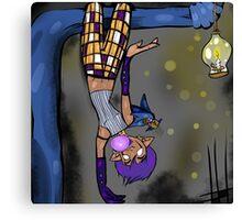 Bat Girl Canvas Print
