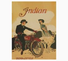 Vintage poster - Indian Motorcycles One Piece - Short Sleeve