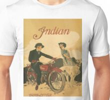 Vintage poster - Indian Motorcycles Unisex T-Shirt