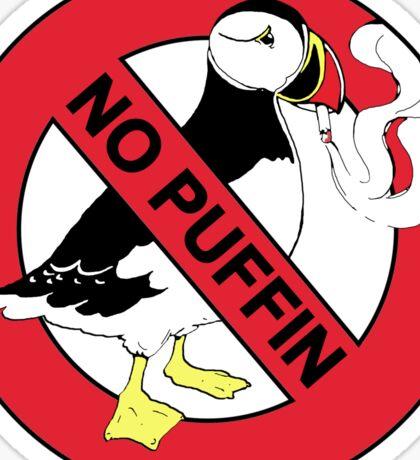 No Puffin Sticker