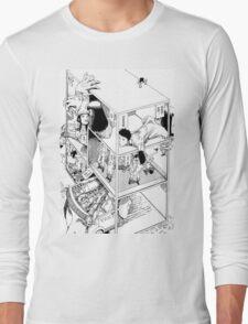 Shintaro Kago - Abstractions Long Sleeve T-Shirt
