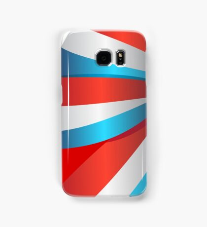 Red White and Blue Ribbon Samsung Galaxy Case/Skin