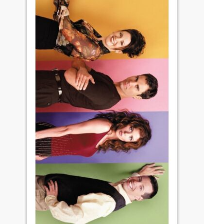Will & Grace Sticker