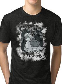 Perish Song - B/W Tri-blend T-Shirt