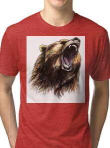 Grizzly Bear  Tri-blend T-Shirt