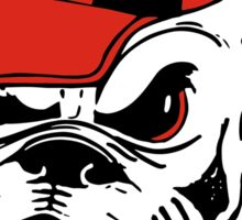 g bulldog Sticker