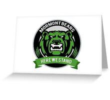 Mormont Bears Greeting Card