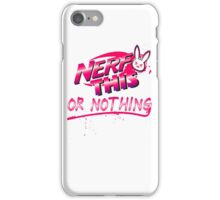 Nerf This nothing iPhone Case/Skin