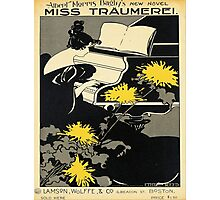 Vintage poster - Miss Traumerei Photographic Print