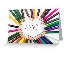 ABC Greeting Card