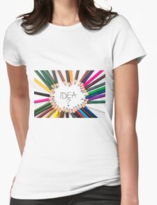 IDEA ? Womens Fitted T-Shirt