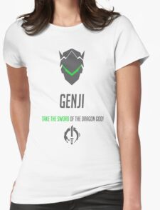 Genji  Womens Fitted T-Shirt