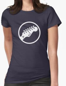 Guitar headstock Womens Fitted T-Shirt