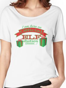 holidays-official elf business Women's Relaxed Fit T-Shirt