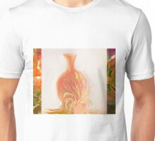 A Peach Of A Vase  by Sherri Of Palm Springs Unisex T-Shirt