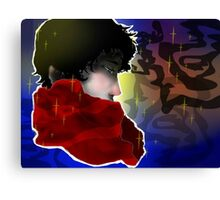 VERY NICE man in scarf Canvas Print