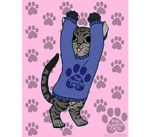 thesweatercats B7 (Luna Kitty dance) v1 Photographic Print