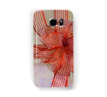 A Shiny Red Christmas Bow Samsung Galaxy Case/Skin