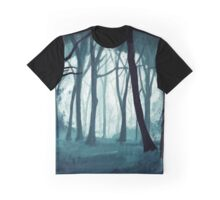 Snow Forest Graphic T-Shirt