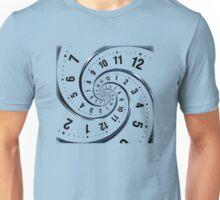 Time Travel Spiral Unisex T-Shirt