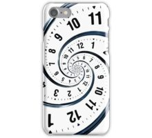 Time Travel Spiral iPhone Case/Skin