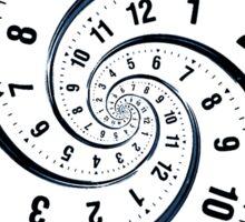 Time Travel Spiral Sticker