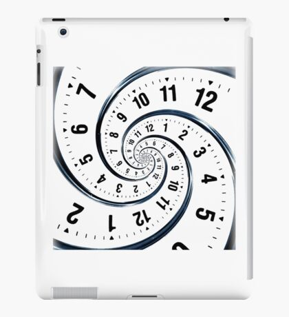 Time Travel Spiral iPad Case/Skin
