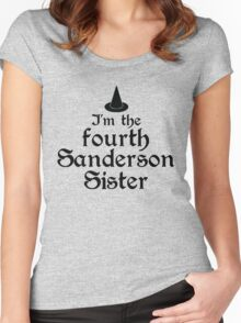 I'm the Fourth Sanderson Sister Women's Fitted Scoop T-Shirt