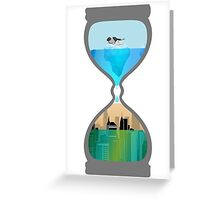 clock is ticking Greeting Card