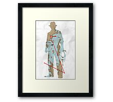 The Map To Nurhaci Framed Print