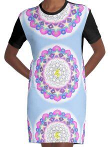 GOA Dancer Mandala Graphic T-Shirt Dress