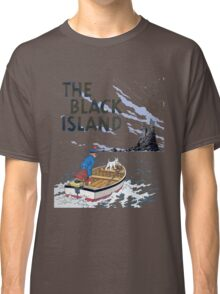 tintin the black island Classic T-Shirt