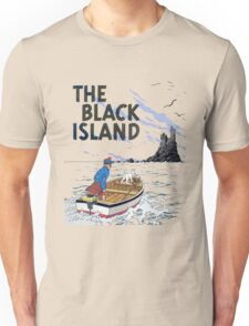 tintin the black island Unisex T-Shirt