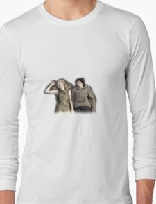 cassie and sid skins first season Long Sleeve T-Shirt