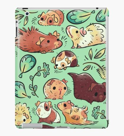 Guinea Pig Huddle iPad Case/Skin