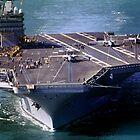 Flight Ops on the USS Carl Vinson, CVN-70 by Wernher Krutein