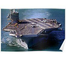 Flight Ops on the USS Carl Vinson, CVN-70 Poster