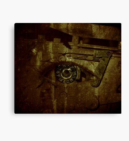 bullet eye Canvas Print