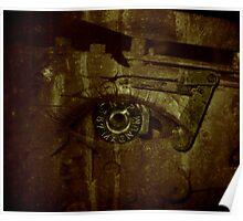 bullet eye Poster