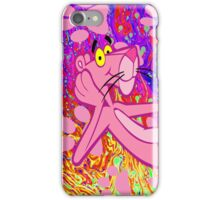 Psychedelic Pink Panther  iPhone Case/Skin