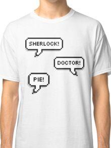 Sherlock Doctor Pie Classic T-Shirt