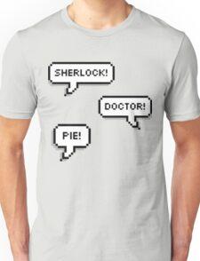 Sherlock Doctor Pie Unisex T-Shirt